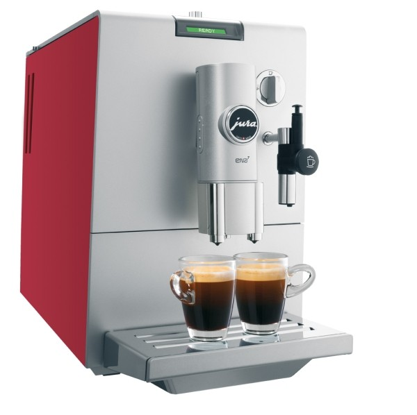 Kávovar Jura ENA 7 red, DOPRAVA ZDARMA, OFICIÁLNÍ DISTRIBUCE