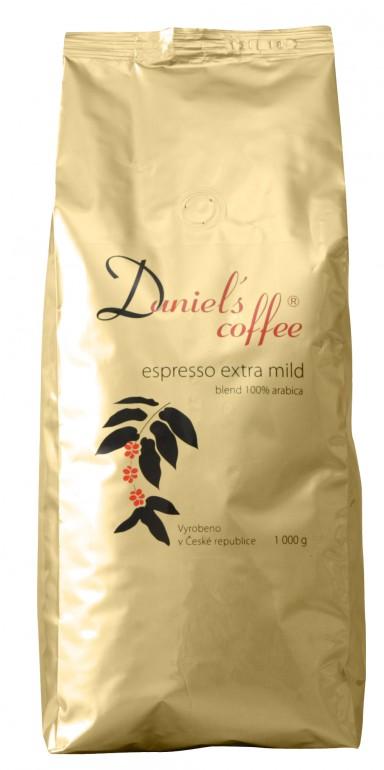 Daniels coffe 100% arabica - espresso extra mild 1 Kg