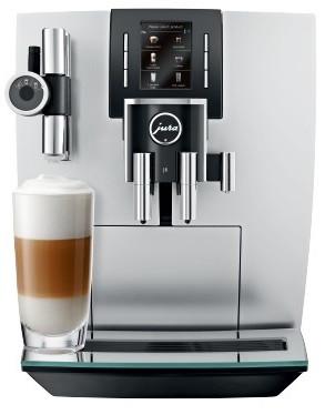 Kávovar JURA J6 - Brillantsilber