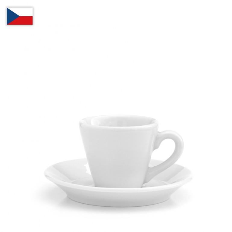 Šálek na espresso a ristretto - český porcelán 50 ml, OFICIÁLNÍ DISTRIBUCE